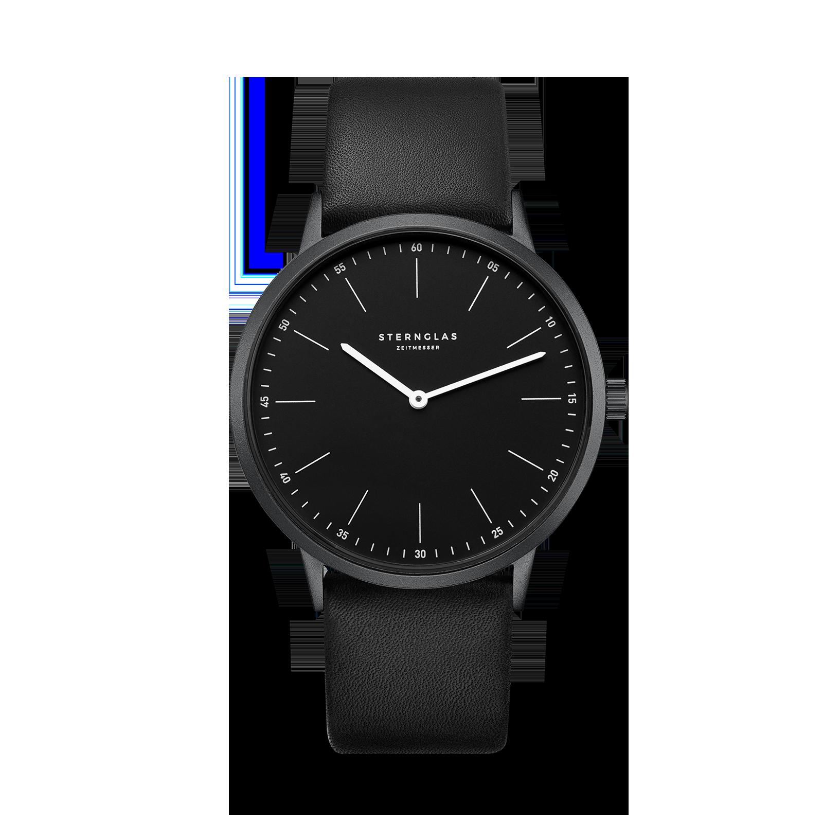 Sternglas Modesto - schwarz