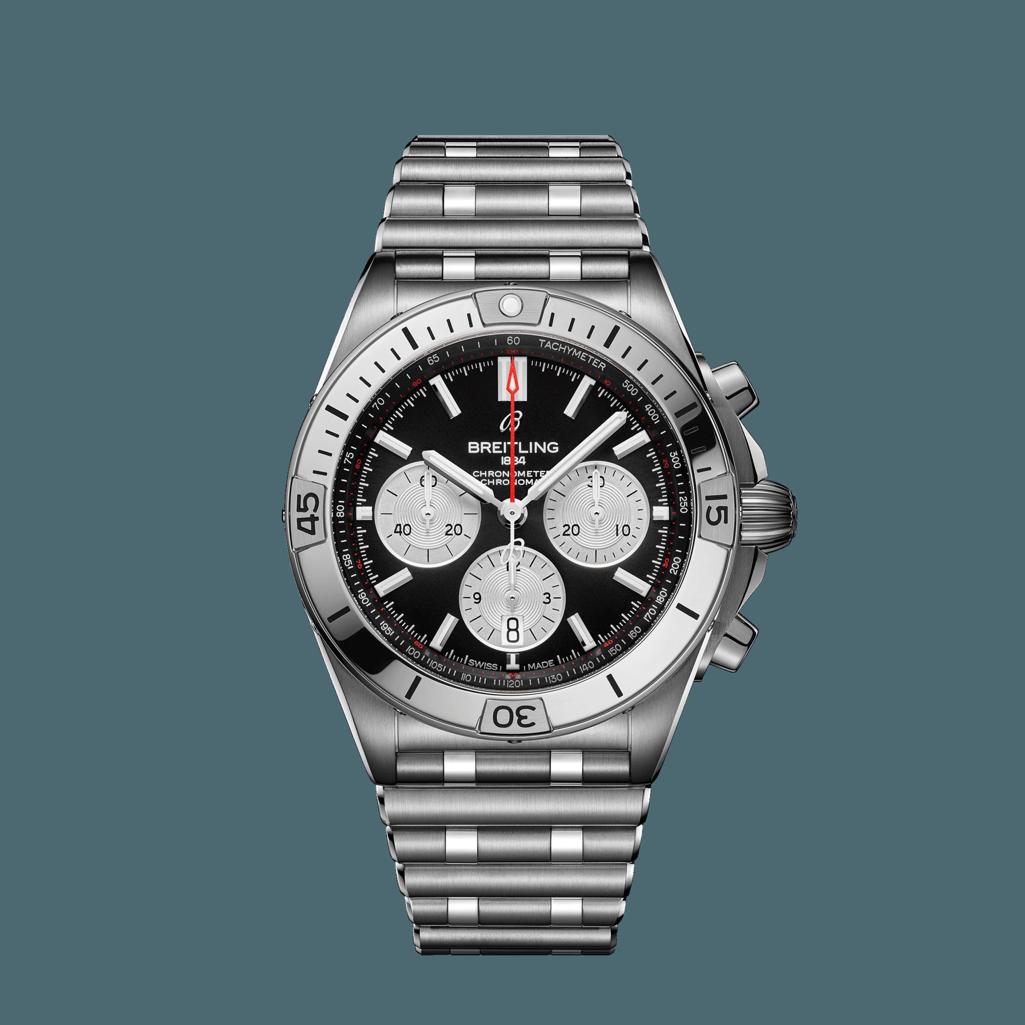 Breitling Chronomat B01 42 - schwarz