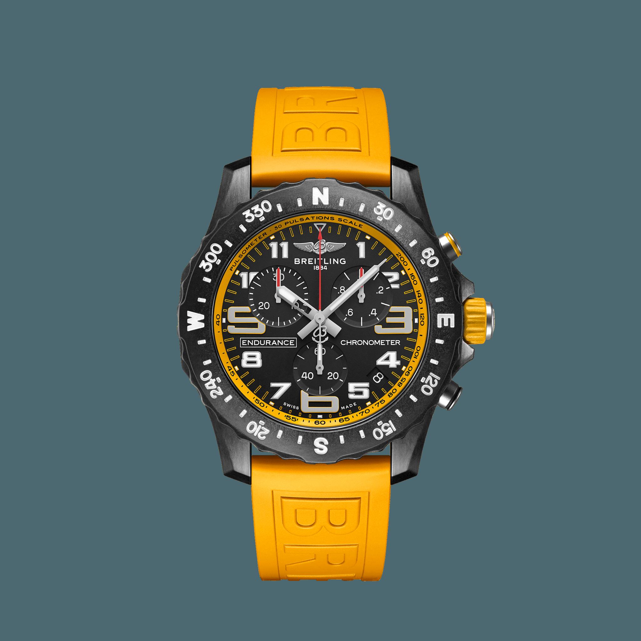 Breitling Endurance Pro Breitlight® - schwarz/gelb