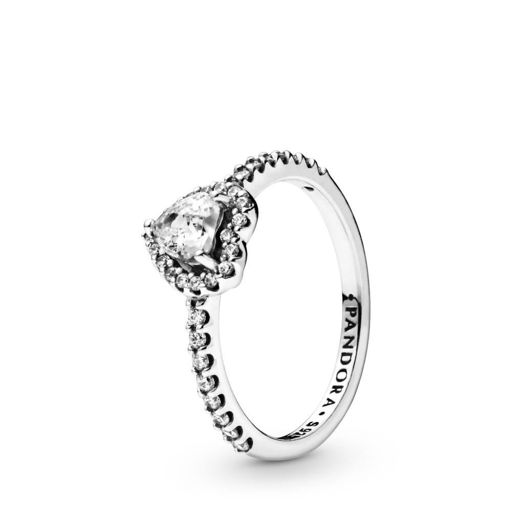 Pandora Ring - erhabenes Herz