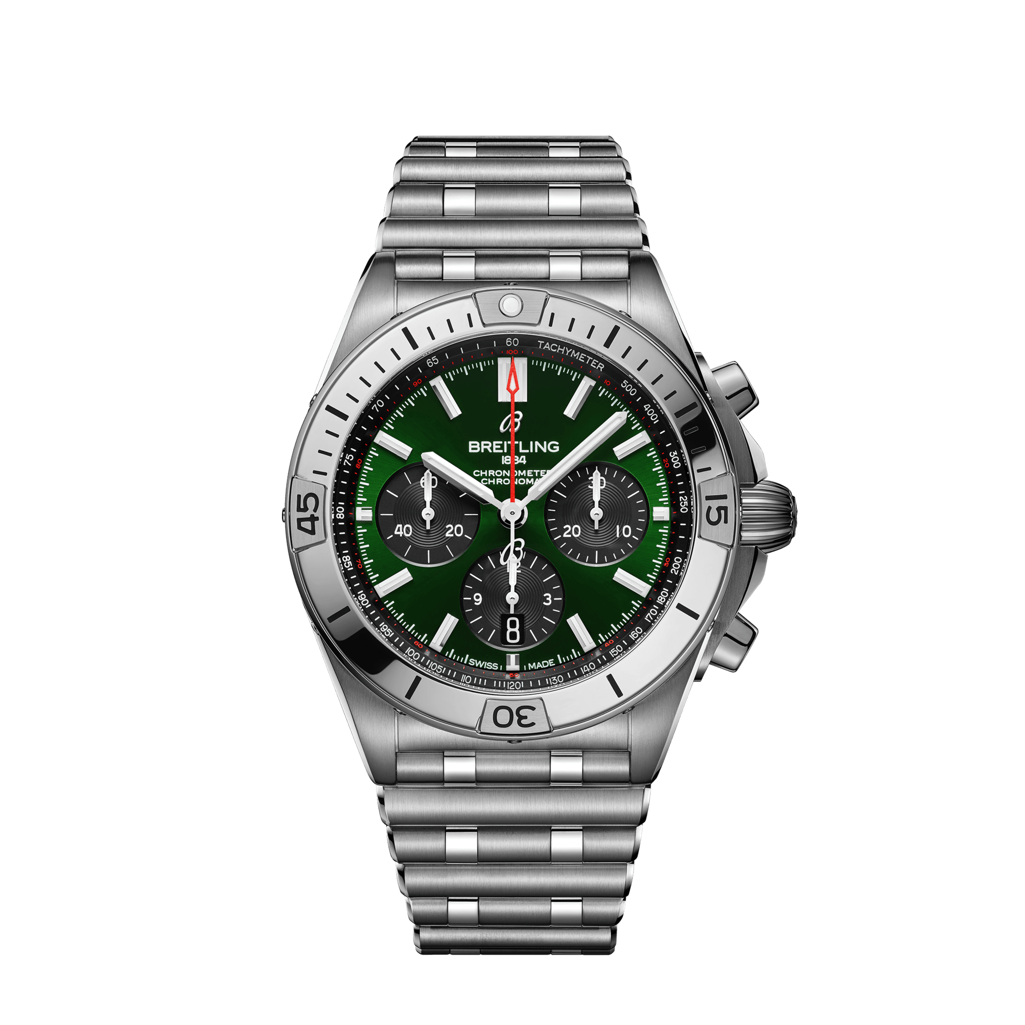 Breitling Chronomat B01 42 Bentley - grün