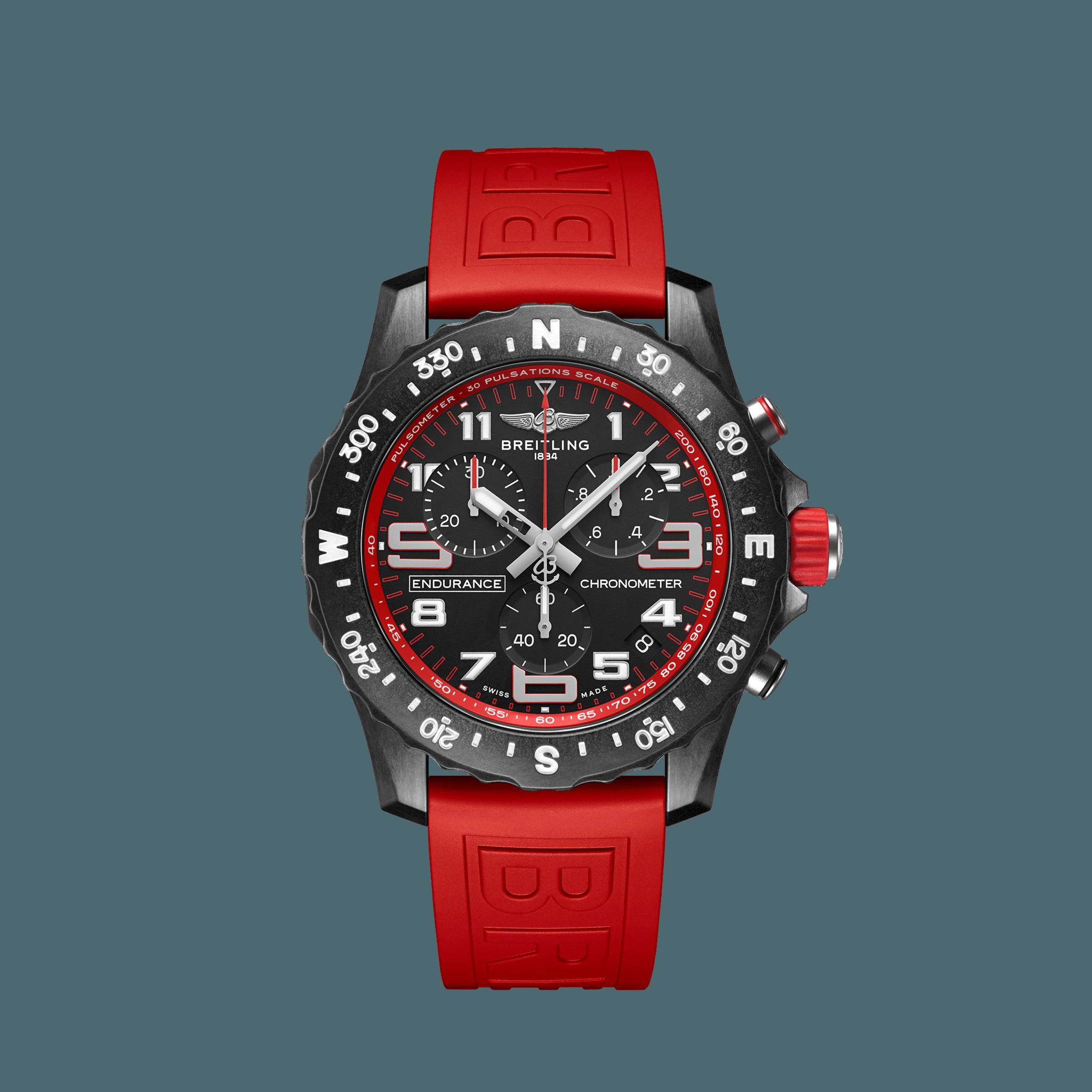 Breitling Endurance Pro Breitlight® - schwarz/rot