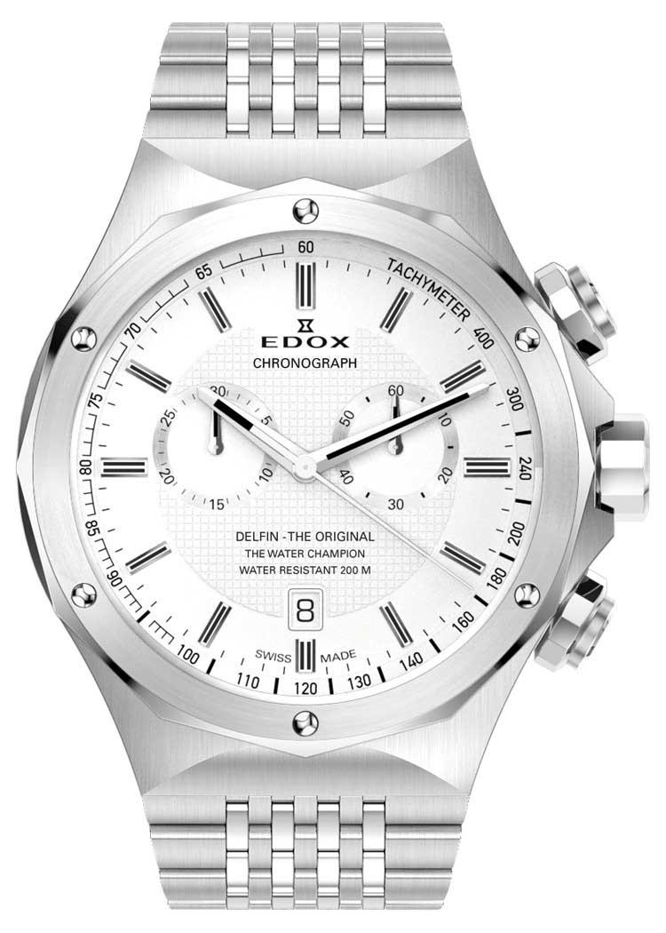 Edox Delfin The Original Herren Chronograph