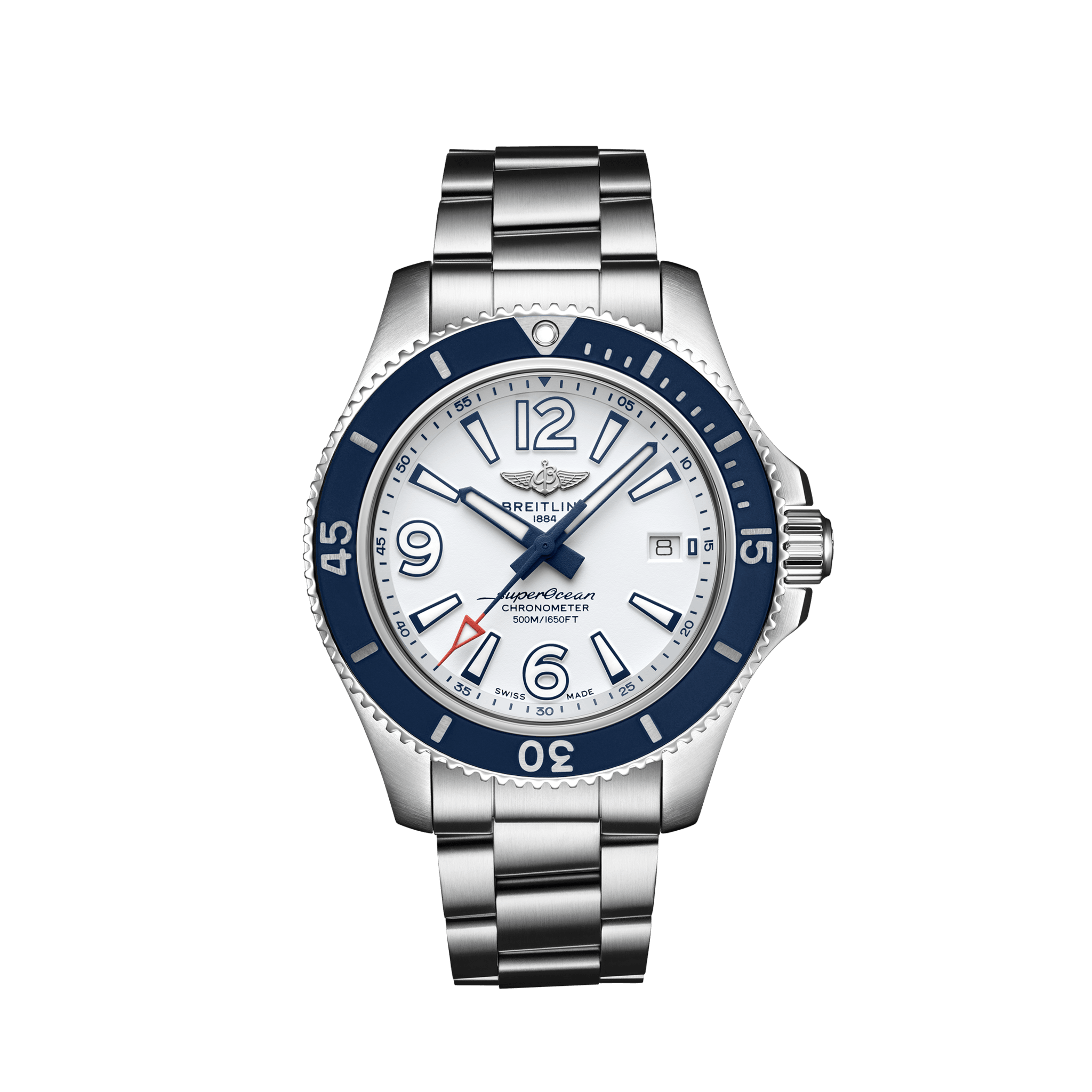 Breitling  Superocean Automatic 42 weiß