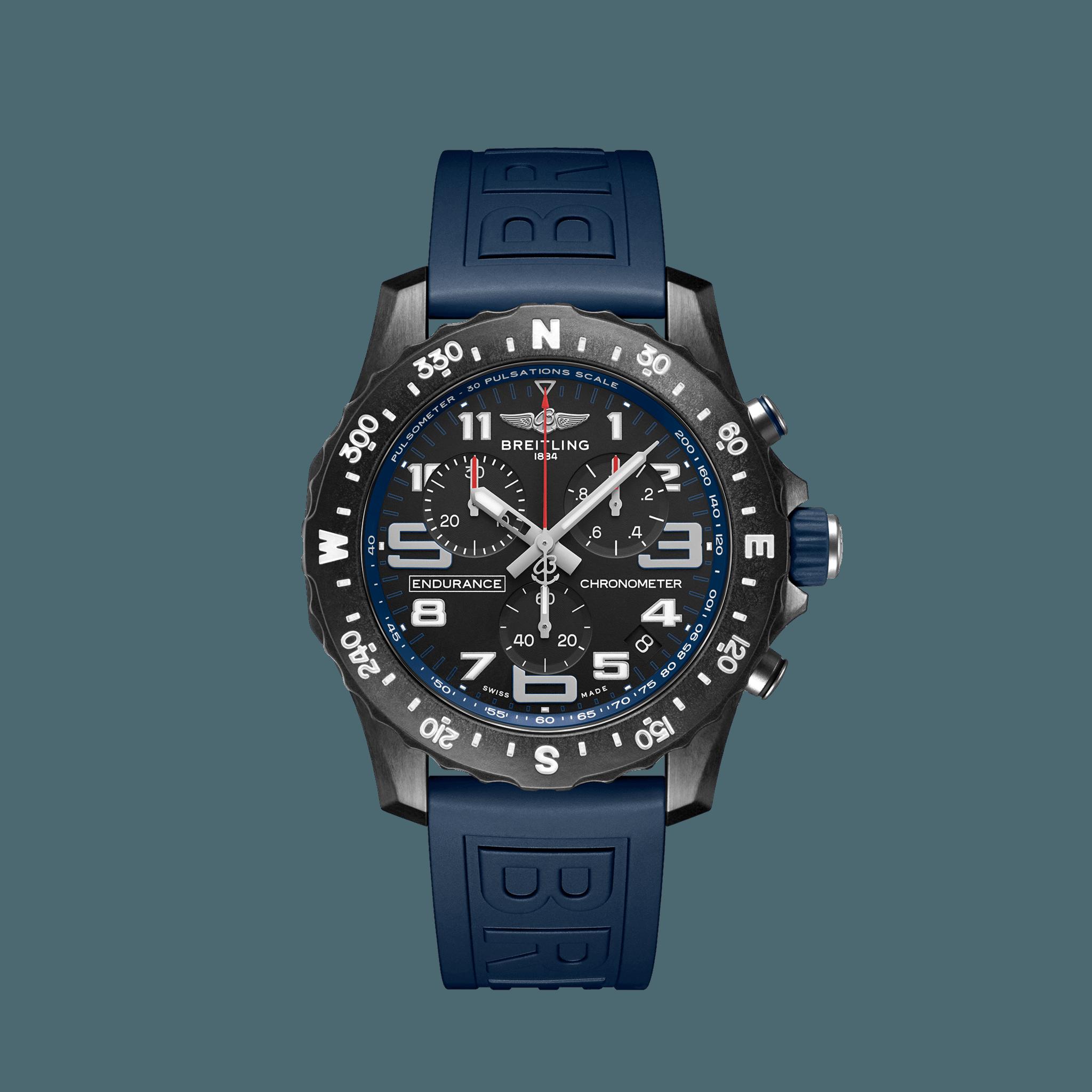 Breitling ENDURANCE PRO Breitlight® - schwarz/blau