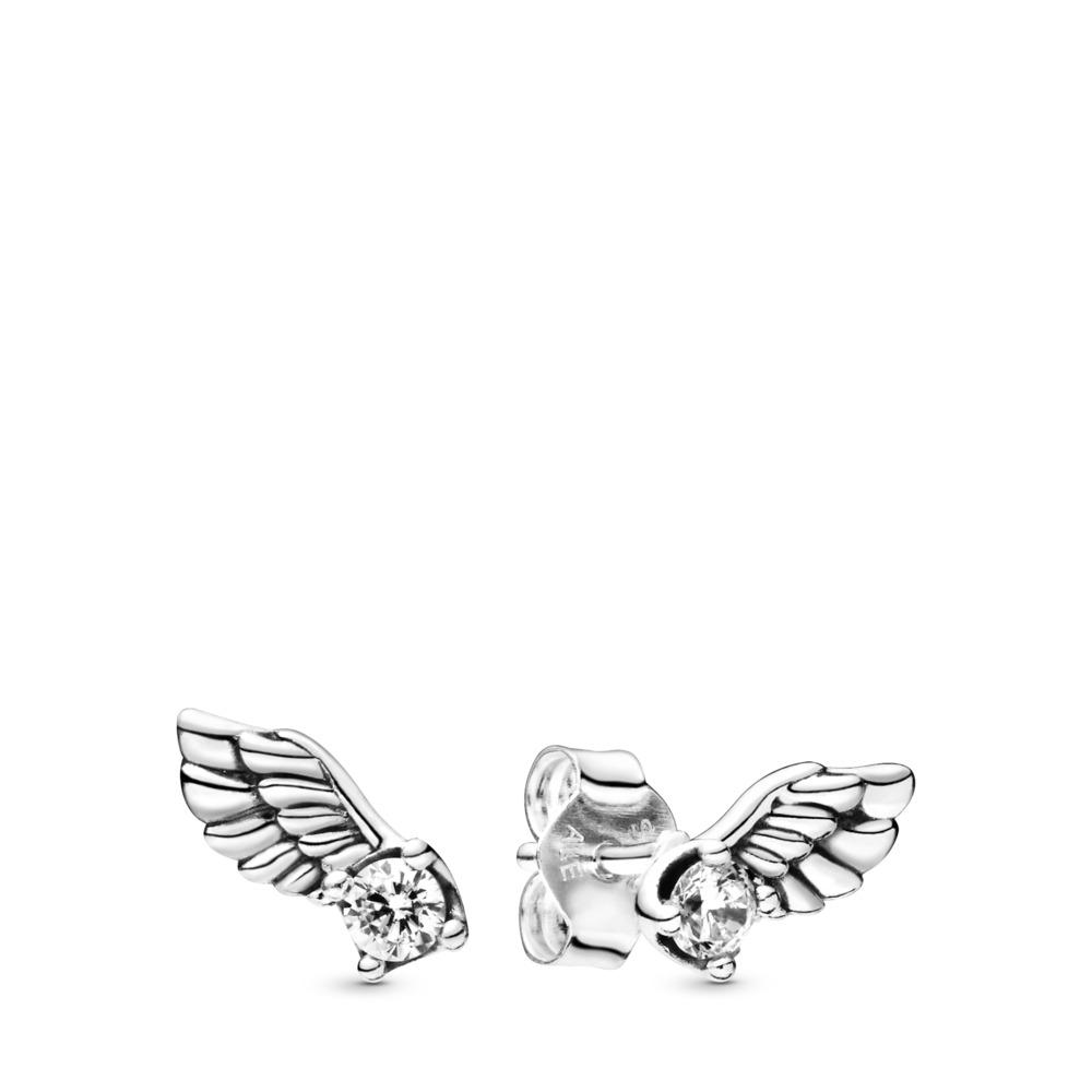 Pandora Ohrstecker funkelnde Engelsflügel