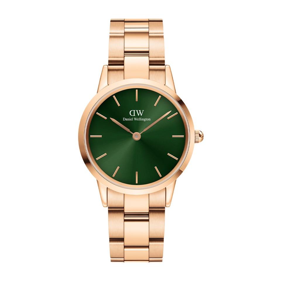 Daniel Wellington Iconic Link Emerald - smaragdgrün